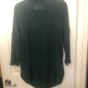 Express Sweaters - Express long sweater w/round bottom & side slits